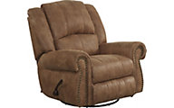 Catnapper Westin Nutmeg Swivel Glider Recliner