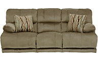 Catnapper Riley Tan Power Reclining Sofa