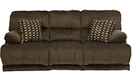 Catnapper Riley Chocolate Power Reclining Sofa
