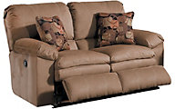 Catnapper Impulse Coffee Reclining Loveseat