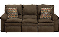 Catnapper Impulse Chocolate Reclining Sofa