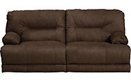 Catnapper Noble Chocolate Lay-Flat Reclining Sofa