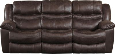 Catnapper Valliant Espresso Power Reclining Sofa