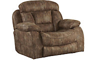 Catnapper Desmond Mocha Lay-Flat Reclining Chair & 1/2