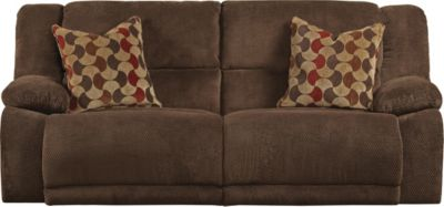Catnapper Hammond Chocolate Power Reclining Sofa