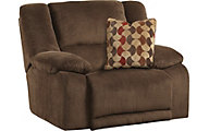 Catnapper Hammond Chocolate Reclining Chair & 1/2