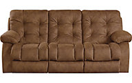 Catnapper Watson Chocolate Lay-Flat Reclining Sofa