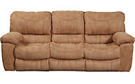 Catnapper Terrance Tan Power Reclining Sofa