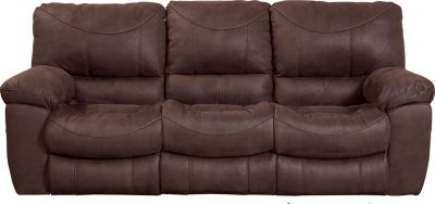 Catnapper Terrance Espresso Power Reclining Sofa