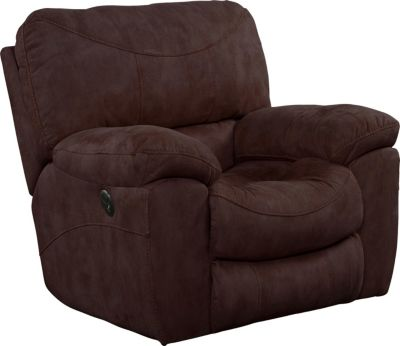 Catnapper Terrance Espresso Power Rocker Recliner