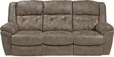 Catnapper Joyner Reclining Sofa with Drop-Down Table