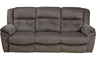 Catnapper Joyner Power Lay-Flat Sofa with Drop-Down Table