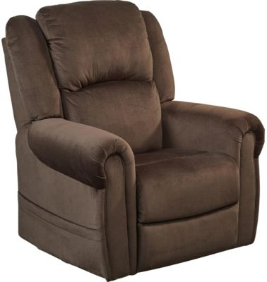 Catnapper Spencer Brown Lift Chair with Power Headrest