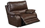 Catnapper Sheridan Brown Power Lay-Flat Recliner