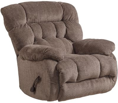 Catnapper Daly Brown Swivel Glider Recliner