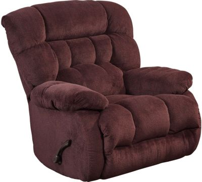 Catnapper Daly Burgundy Rocker Recliner