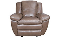 Catnapper Aria Leather Glider Recliner