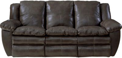 Catnapper Aria Leather Power Lay-Flat Sofa