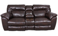 Catnapper Nolan Reclining Loveseat with Console