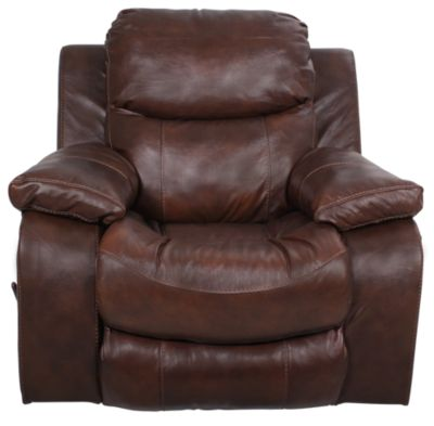Catnapper Dallas Leather Swivel Glide Recliner