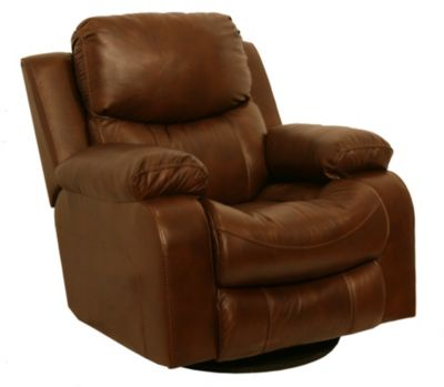 Catnapper Dallas Leather Power Glider Recliner