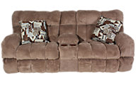 Catnapper Siesta Reclining Loveseat with Console