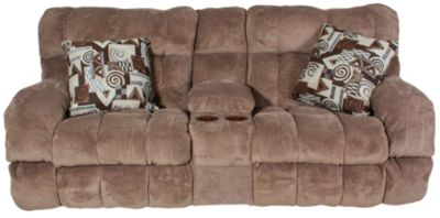 Catnapper Siesta Power Reclining Loveseat with Console