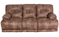 Catnapper Voyager Lay-Flat Sofa with Console
