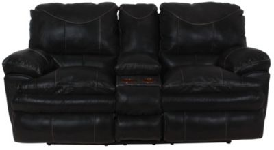 Catnapper Perez Reclining Loveseat with Console