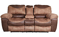 Catnapper Portman Reclining Loveseat with Console
