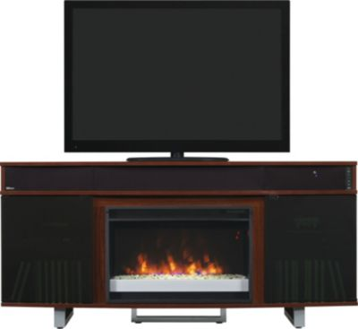 Classic Flame/Tresanti Enterprise 64-Inch Cherry Media Fireplace