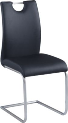 Chintaly Carina Black Side Chair