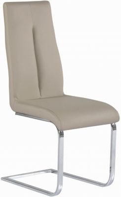 Chintaly Jacquelin Taupe Side Chair