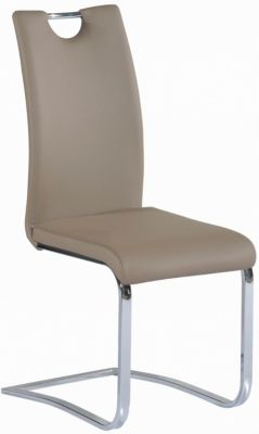 Chintaly Josephine Taupe Side Chair