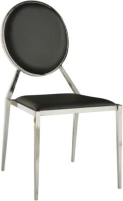Chintaly Lisa Black Side Chair