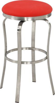Chintaly 1193 Collection Red Bar Stool