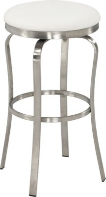Chintaly 1193 Collection White Counter Stool