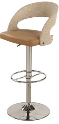 Chintaly 1391 Collection Khaki Adjustable Stool