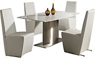 Chintaly Cynthia Dining Table & 4 Side Chairs