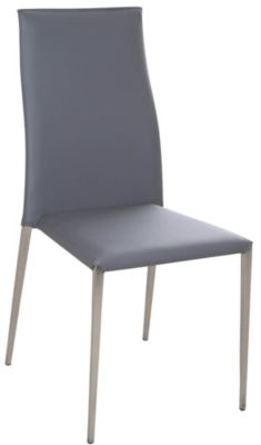 Chintaly Elsa Gray Side Chair