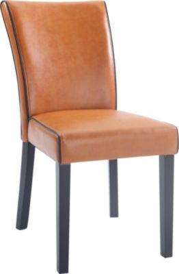 Chintaly Michelle Orange Parsons Chair