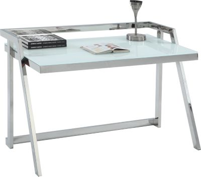 Chintaly Contemporary Glass Desk