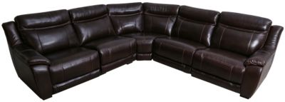 Cheers U9912 Collection Leather 5-Piece Sectional