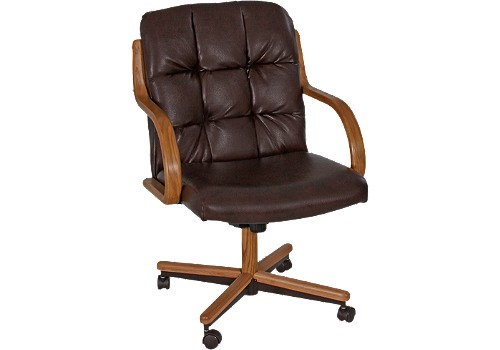 DINING ROOM CHAIR WITH CASTER