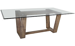 C.M.I. Simplicity Glass Table