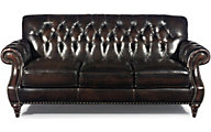 Craftmaster L2877 Collection 100% Leather Sofa