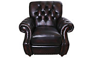 Craftmaster L2877 Collection 100% Leather Press-Back Recliner