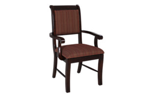 Crown Mark Merlot Arm Chair