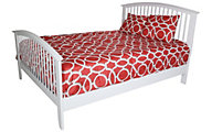 Crown Mark Lawson White Queen Bed