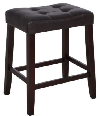 Crown Mark Kent Brown Vinyl Counter Stool